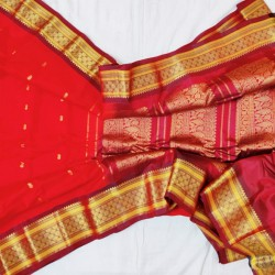 Gadwal Pure Sico with Silk blouse GS-261