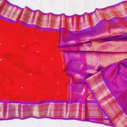 Gadwal Pure Sico with Silk blouse GS-263