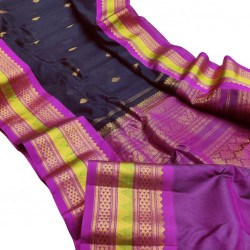 Gadwal Pure Sico with Silk Blouse GS304