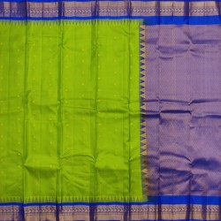Gadwal Pure silk Small Temple border   GPS867