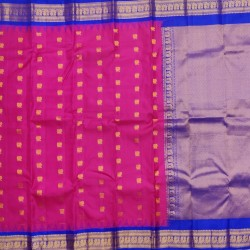 Gadwal Pure silk Small Temple border   GPS869