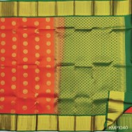 Kanchi pure Pattu Handloom saree big moftis - KMP1040