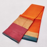 Pure SIlk Saree Plain - LSS103