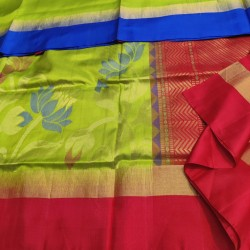 Beautiful Gangajemuna LIght weight Soft SIlk - LSS119