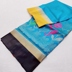 Beautiful Gangajemuna LIght weight Soft SIlk - LSS120