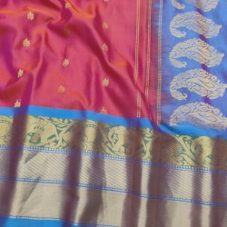 Gadwal Pure Silk Saree with Attractive Colour Combination GPS 926
