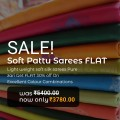 Latest Soft Silk Sarees 50% Off