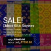Ikkat Soft Silk Sarees New Arrivals