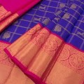 Gadwal Pure Silk Checks